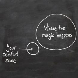 comfort zone en magic