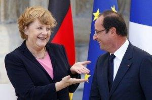 merkel en Hollande