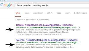 Google obama belastingparadijs