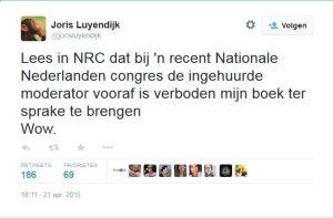 Tweet Joris Luyendijk