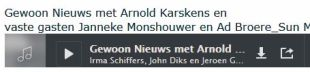 Uitzending 8 mei 2016 met Arnold Karskens