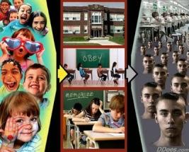 onderwijs mind control