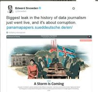 Tweet Edward Snowden