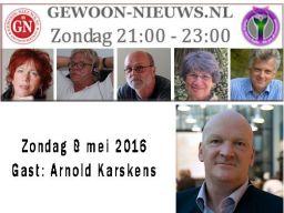 Arnold Karskens in Gewoon nieuws