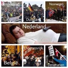 Nederland als protestland