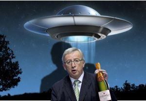 Juncker en buitenaardsen